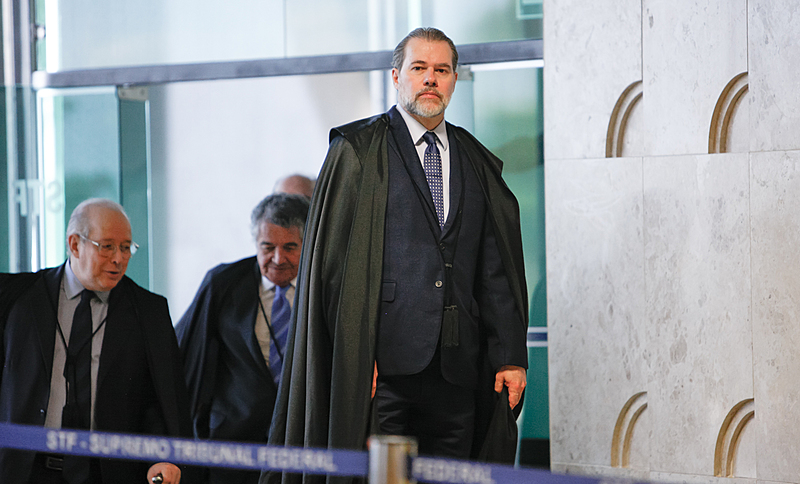 Ministro Toffoli marcou para a próxima quinta-feira (17) o julgamento no STF sobre a legalidade das prisões em segunda instância