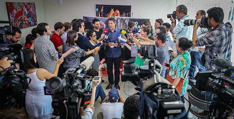 Ex-prefeito de São Paulo, Fernando Haddad (PT) disputa o segundo turno das eleições presidenciais com Jair Bolsonaro (PSL)