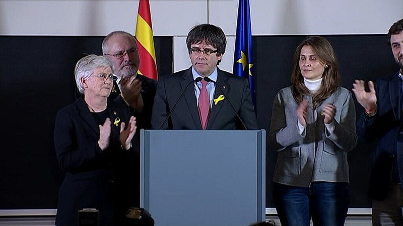 Puigdemont, líder independentista catalão