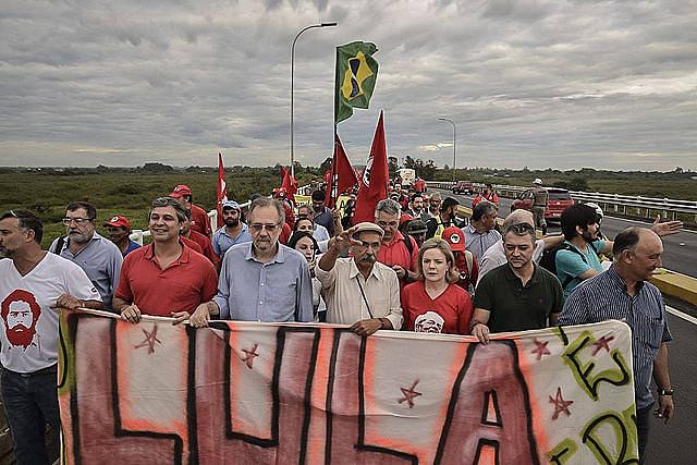 O julgamento no dia 24, para o coordenador do MST, será do poder judiciário e não doex-presidente Lula