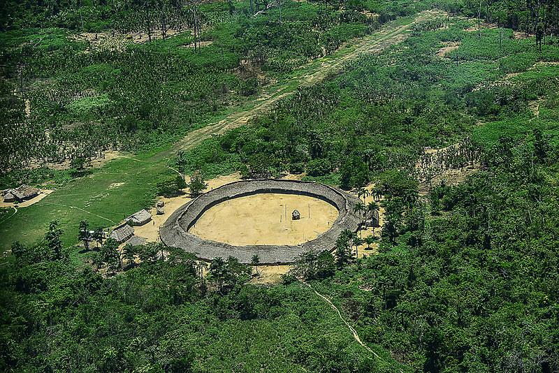 Aldeia Yanomami em Roraima