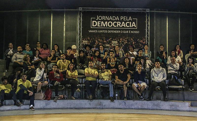 Em março deste ano, última edição da Jornada pela Democracia teve como tema a defesa da aposentadoria