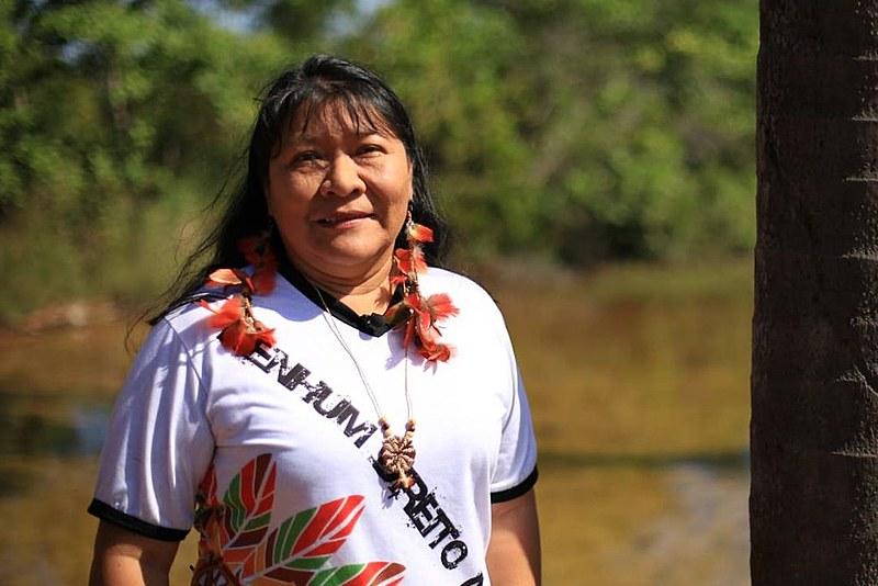 Joênia Wapichana, deputada federal indígena, questionou declaração de ministra enquanto governo ataca direitos de povos originários