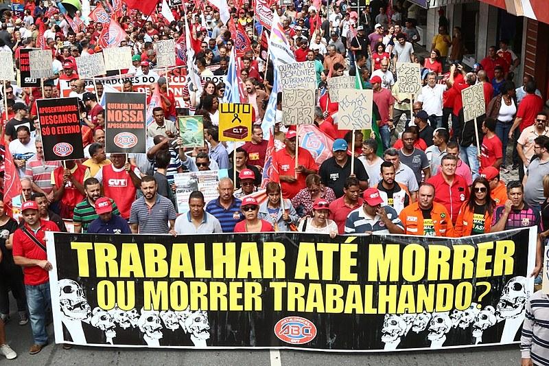 Assembleia foi convocada pelas centrais sindicais e as frentes Povo sem Medo e Brasil Popular