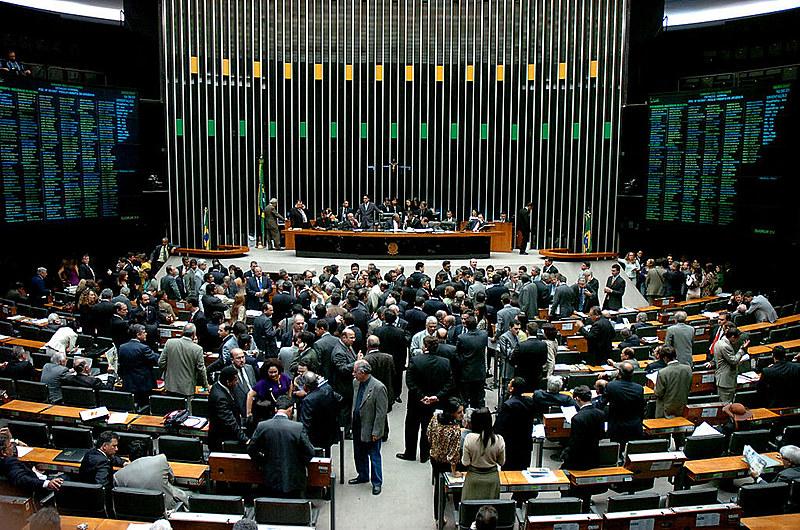 Plenário do Congresso brasileiro