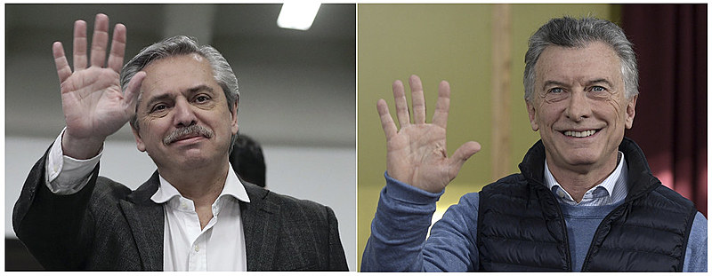 A chapa encabeçada por Alberto Fernández e Cristina F. Kirchner derrotaram o atual presidente, Maurício Macri, nas primárias argentinas