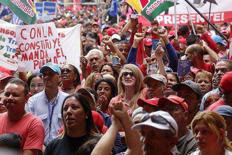 Mobilização em defesa da Assembleia Constituinte em 4 de maio