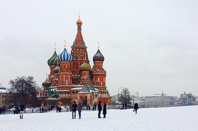 Catedral de São Basílio, na capital Moscou, é um dos pontos turísticos do país sede da Copa