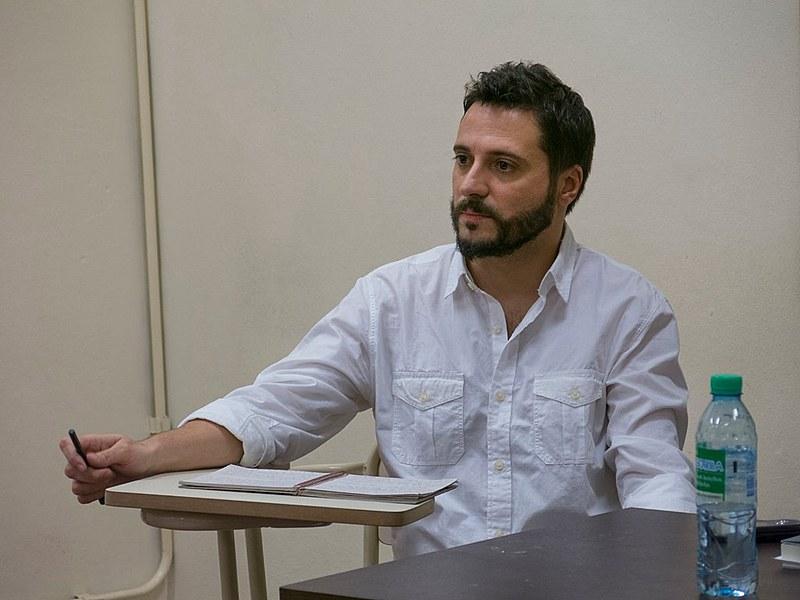 Martín Ogando é membro domovimento Patria Grandeeda Associação de Professores da Faculdade de Ciências Sociais da UBA