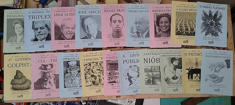 "Coletânea ""Antologia do golpe"", enviada a Lula (PT), aborda temas políticos dos últimos anos no país"