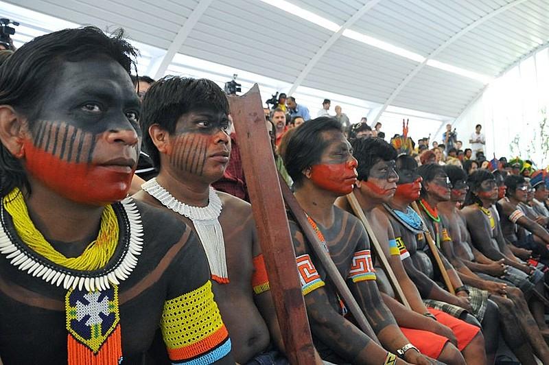 Indígenas Kayapó se mobilizam contra a construção de Belo Monte