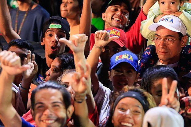 Na maioria dos municípios, o PSUV ganhou com mais de 70% dos votos