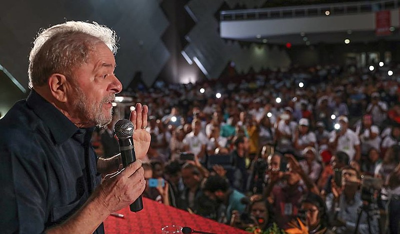 Lula emerge como liderança em todas as pesquisas de intenção de voto para as eleições presidenciais de 2018