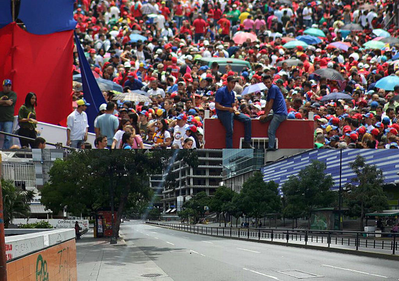Caracas teve dia com intensas atividades políticas