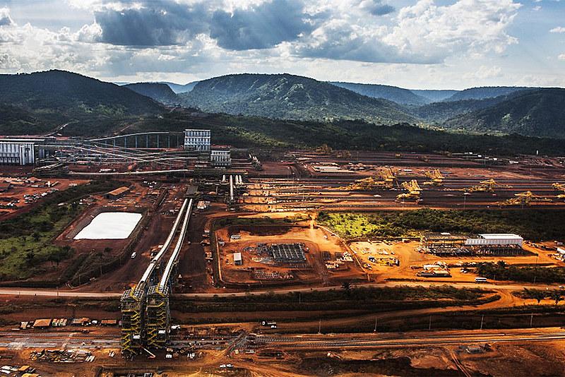 Complexo dos Carajás tem o teor de minério de ferro de cerca de 70%, enquanto em Minas Gerais não chega a 50%