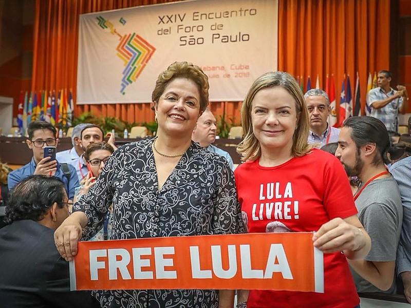 24ª reunião anual do Fórum de São Paulo foi realizada entre os dias 15 e 17 de julho em Havana, Cuba