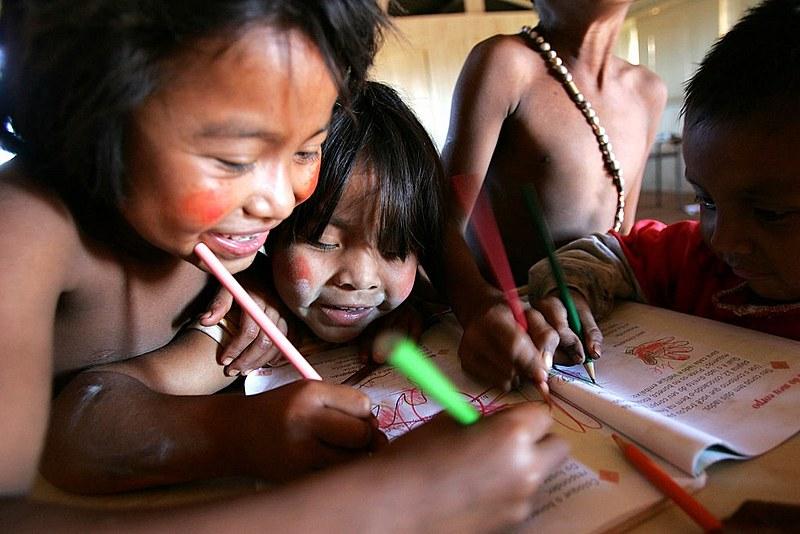 Legislação garante educação diferenciada aos povos indígenas
