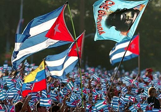 Cubanos celebram aniversário da revolução