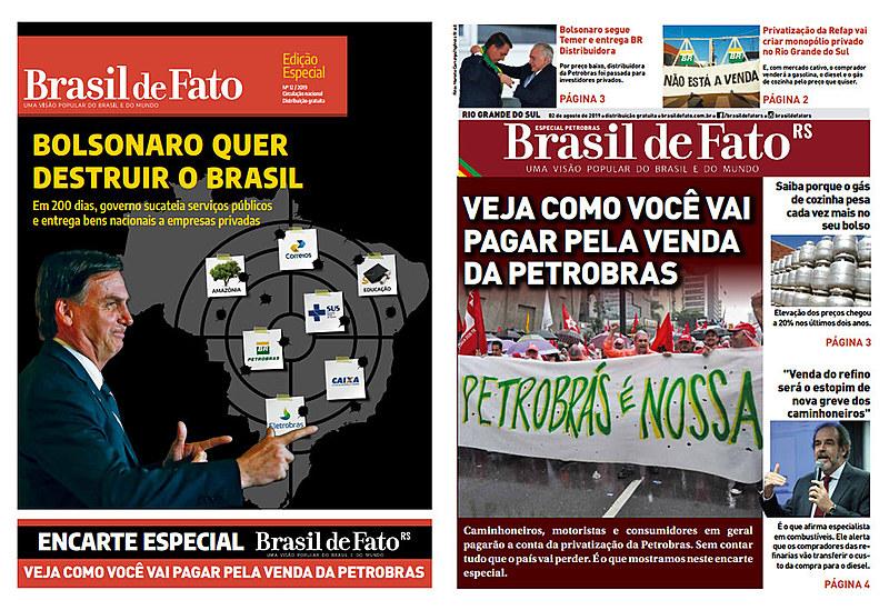 Confira e edição especial distribuída em agosto de 2019 no Rio Grande do Sul