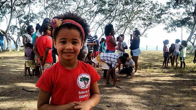 Crianças participaram de brincadeiras, jogos, oficinas pedagógicas e também fizeram política