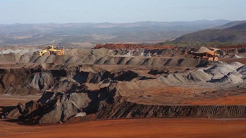 Área de mineração da Anglo American