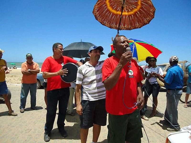 Cícero era referência em produção agroecológica do assentamento Zumbi dos Palmares, em Campos, e entusiasta das feiras de comercialização
