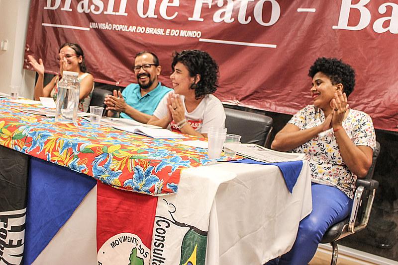 Ato de lançamento do Brasil de Fato Bahia debate comunicação popular