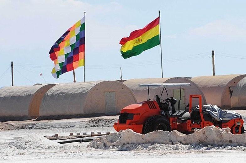 Reservas de lítio na Bolívia