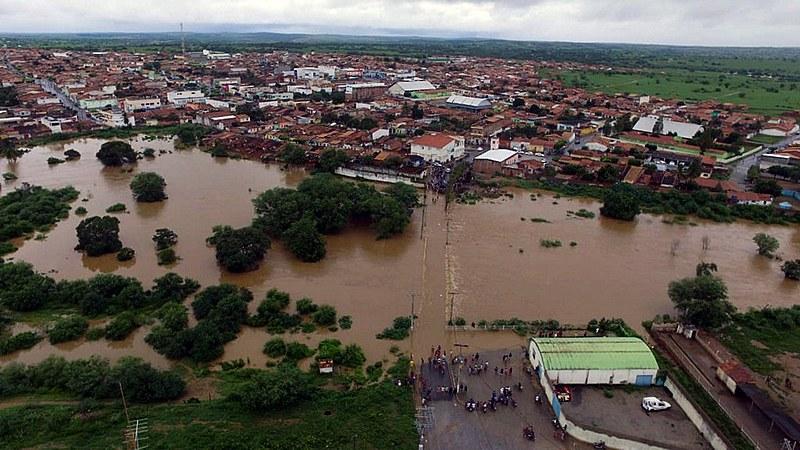 O município de Coronel João Sá, no nordeste da Bahia, foi o mais afetado por ruptura de reservatório