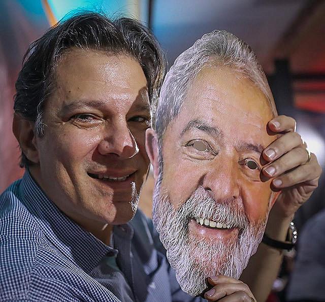 Fernando Haddad es el ex alcalde de la ciudad de São Paulo y ex ministro de educación