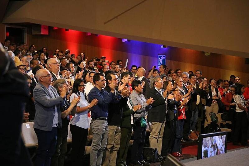 O Brasil de Fato acompanhou de perto esse grande evento e entrevistou porta-vozes de algumas das delegações internacionais.