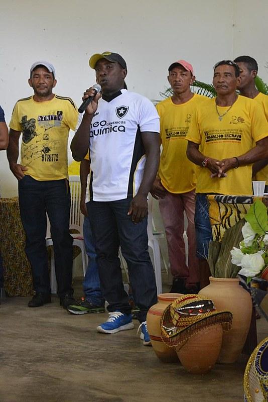 Marinaldo, resgatado três vezes das mãos de fazendeiros escravocratas, hoje é uma das lideranças em Pindaré Mirim (MA)