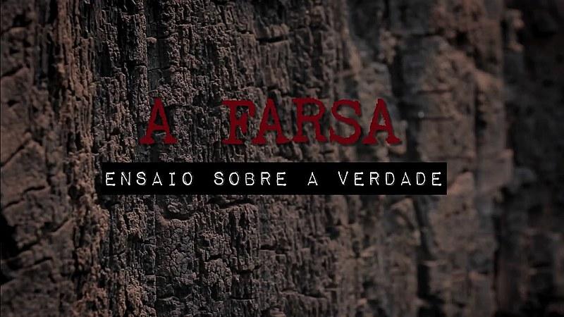 """""""A farsa: ensaio sobre a verdade"""" estreia na segunda-feira (17)"""
