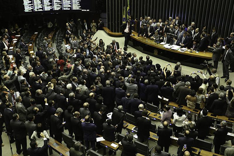 Oposição deixou no Plenário da Câmara após governo determinar reforço de tropas federais para proteger Esplanada
