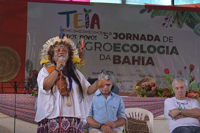 V Jornada de Agroecologia da Bahia, realizada na Arena Boca da Barra, em Porto Seguro