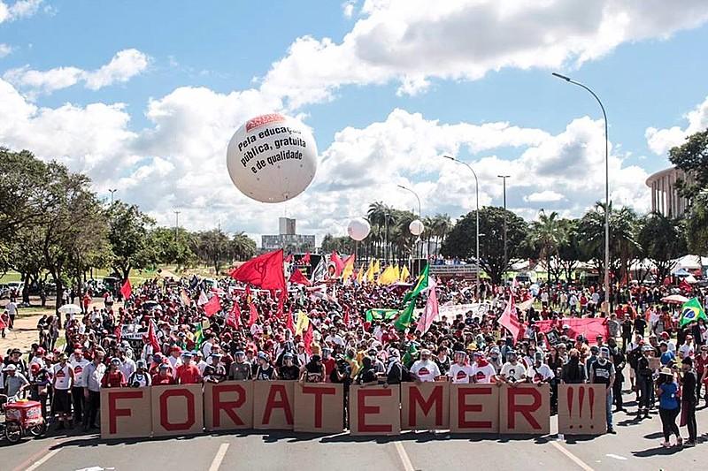 Ocupa Brasília contou com a participação de caravanas de diversas regiões do país