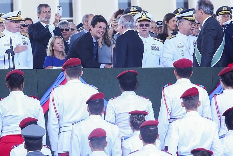Por diferentes motivos, Michel Temer (PMDB) e Sérgio Moro foram protagonistas da agenda política nacional em 2017