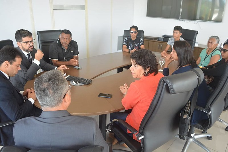Reunião aconteceu no Ministério Público Estadual, em João Pessoa; crimes ocorreram há 6 meses