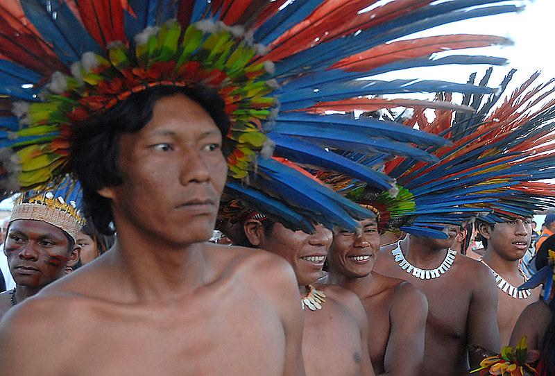 Etnias indígenas no Brasil