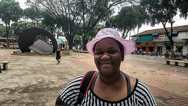 A vendedora Elivone procura emprego formal há um ano