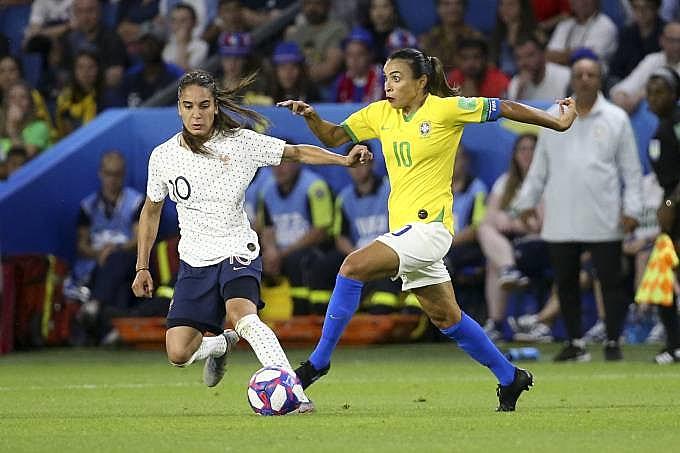 Jogo entre Brasil e França na Copa do Mundo teve maior audiência do futebol de mulheres