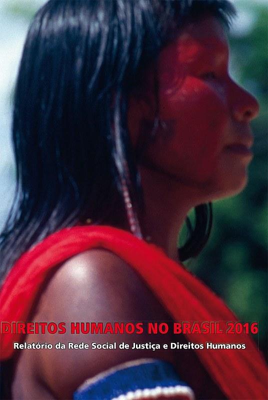 Capa do Relatório dos Direitos Humanos no Brasil em 2016