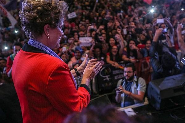 Ato com Dilma acontece na véspera do julgamento do processo de impeachment no Senado