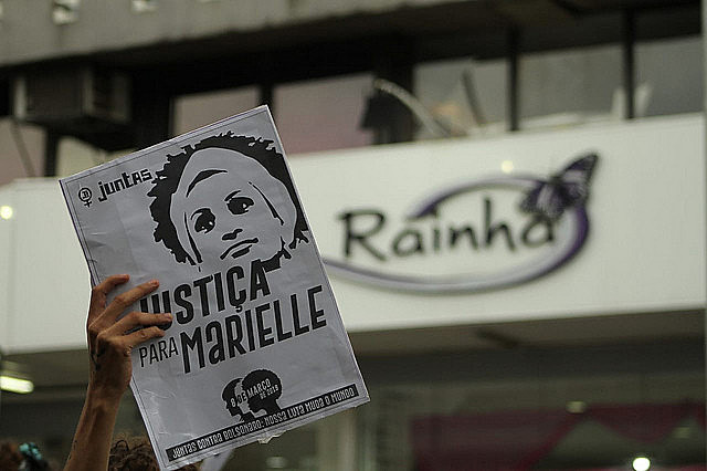 Brazilians also took to the streets on March 8th, International Women's Day, to honor Marielle Franco's memory