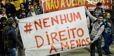 Trabalhadores são contra as propostas do governo de Michel Temer de mudança na lei trabalhista