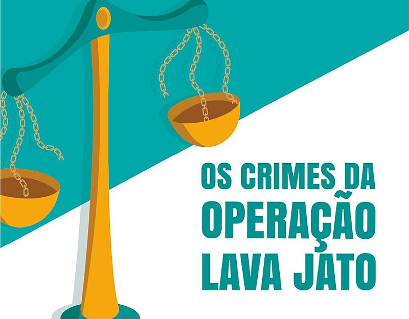 """A cartilha """"Os Crimes da Lava Jato"""" apresenta para a população as ilegalidades cometidas pela operação"""