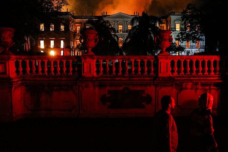 Incêndio no Rio foi destaque na imprensa internacional
