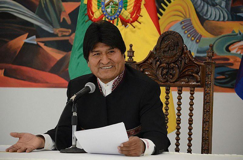 """Evo Morales afirmou que não renunciará às tentativas de acabar com o que classificou como """"enclausuramento"""" do país"""