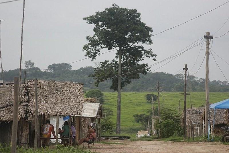 Acampamento Hugo Chávez, do Movimento dos Trabalhadores Rurais Sem Terra