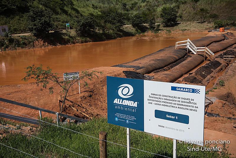 Até hoje, a Samarco removeu cerca de 1% do total de rejeitos vazados